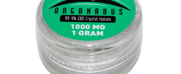 CBD Isolate Crystals Bulk