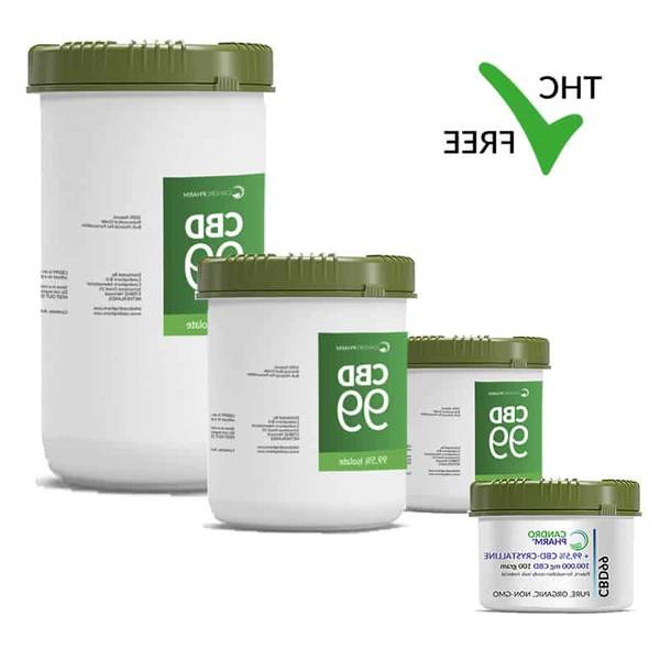 Wholesale CBD Isolate Crystalline