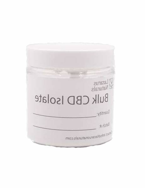 CBD Isolate Powder Bulk
